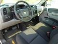 2012 Graystone Metallic Chevrolet Silverado 1500 LS Regular Cab 4x4  photo #23