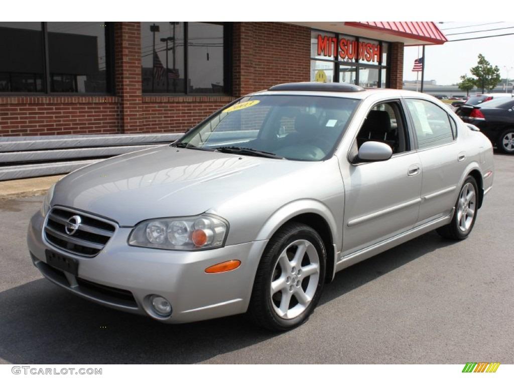 2003 sheer silver nissan maxima se #66882721 | gtcarlot - car
