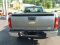 2012 Graystone Metallic Chevrolet Silverado 1500 Work Truck Regular Cab 4x4  photo #5