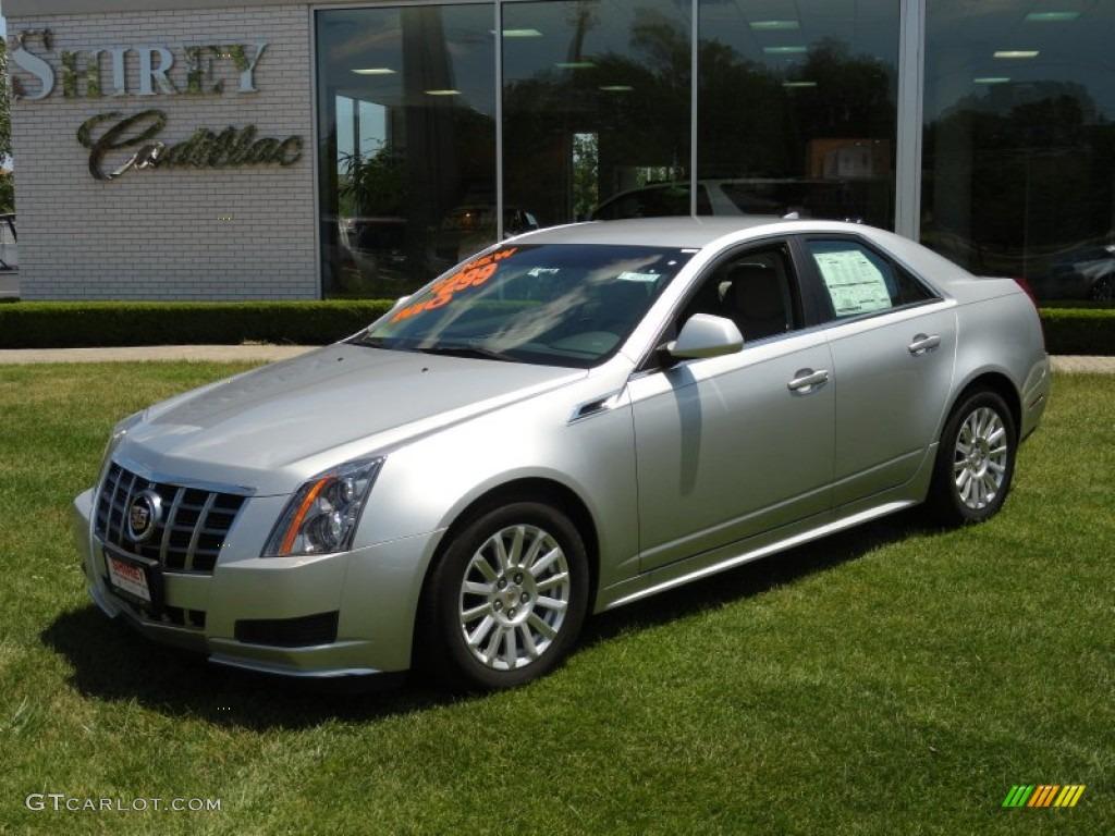 2012 Radiant Silver Metallic Cadillac Cts 3 0 Sedan