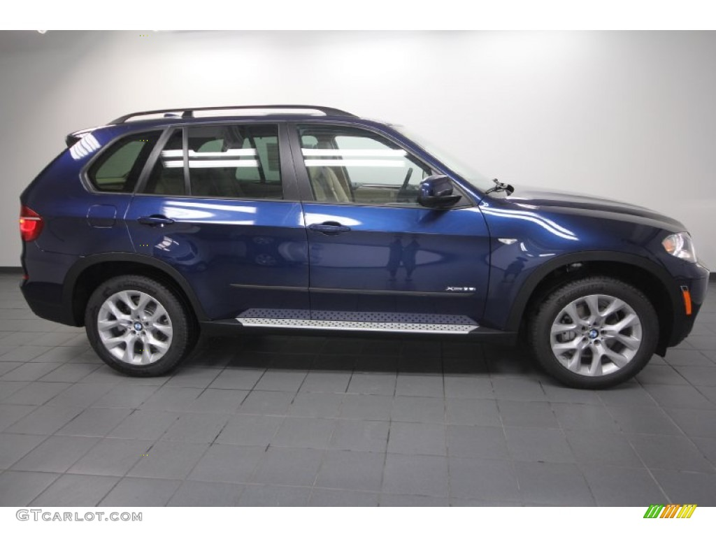 Deep Sea Blue Metallic 2013 Bmw X5 Xdrive 35i Premium