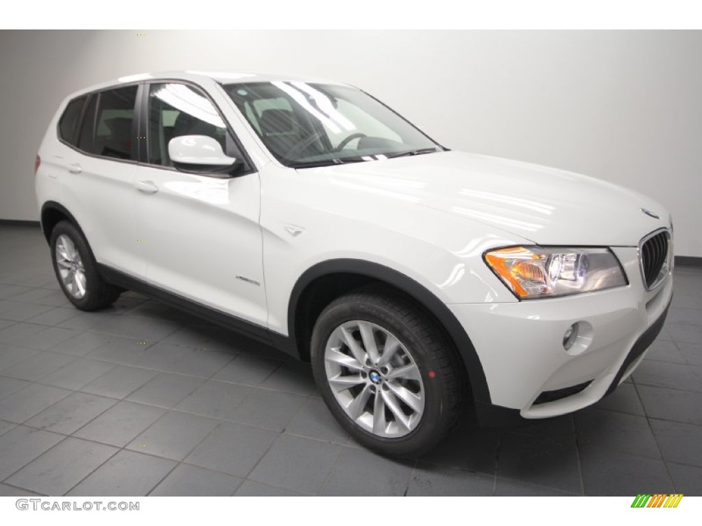 Alpine White 2013 Bmw X3 Xdrive 28i Exterior Photo 66902332