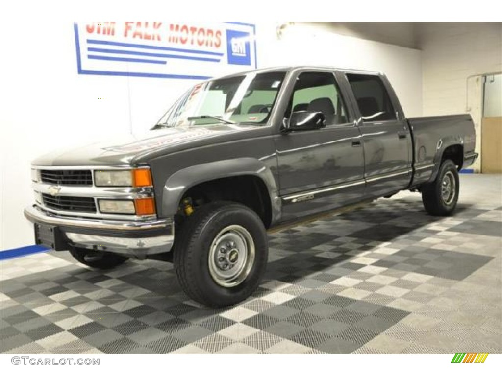 1999 Medium Charcoal Gray Metallic Chevrolet Silverado 2500 Ls Crew Cab 4x4 66882986 Photo 26 Gtcarlot Com Car Color Galleries
