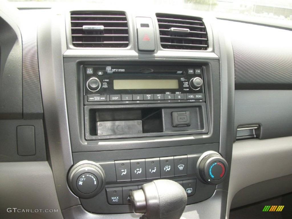 2008 CR-V LX 4WD - Royal Blue Pearl / Gray photo #6