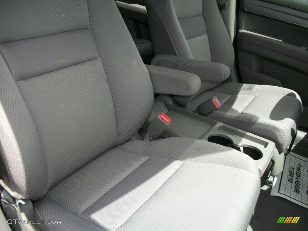 2008 CR-V LX 4WD - Royal Blue Pearl / Gray photo #9