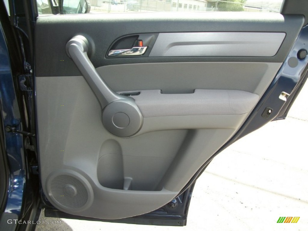2008 CR-V LX 4WD - Royal Blue Pearl / Gray photo #12