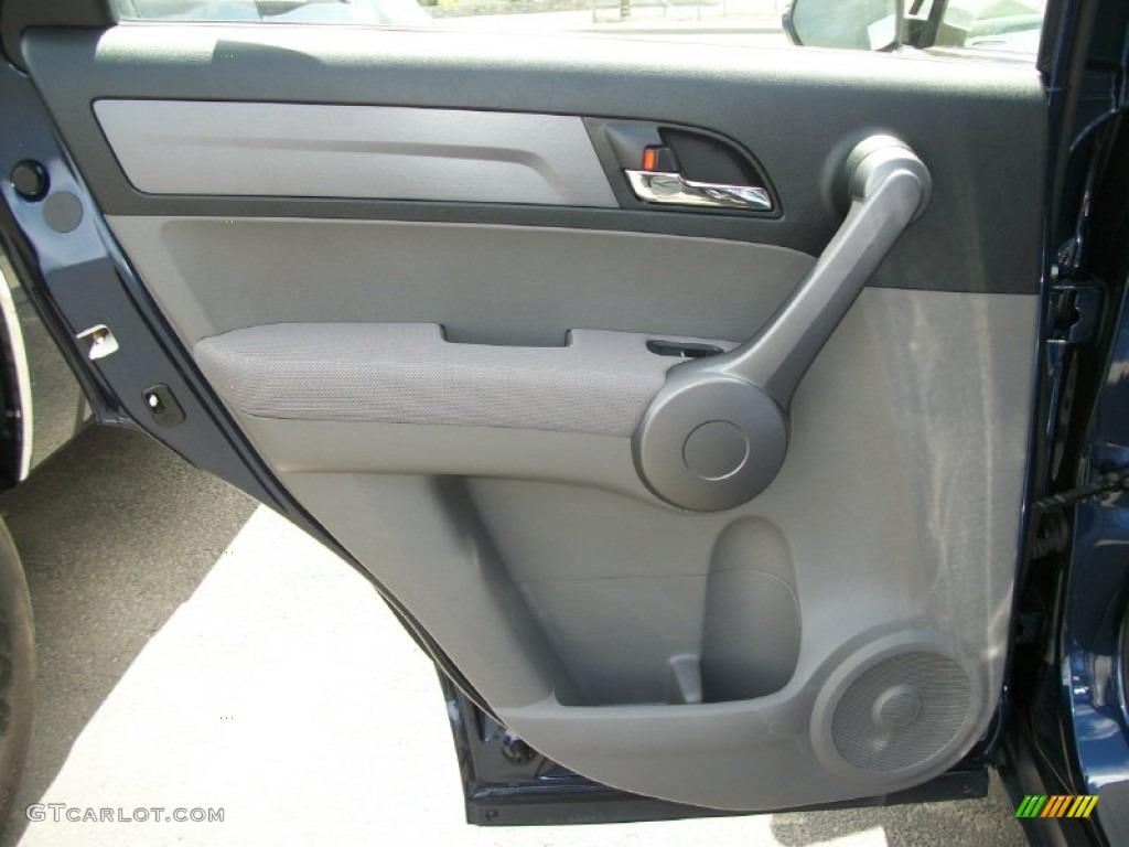 2008 CR-V LX 4WD - Royal Blue Pearl / Gray photo #14