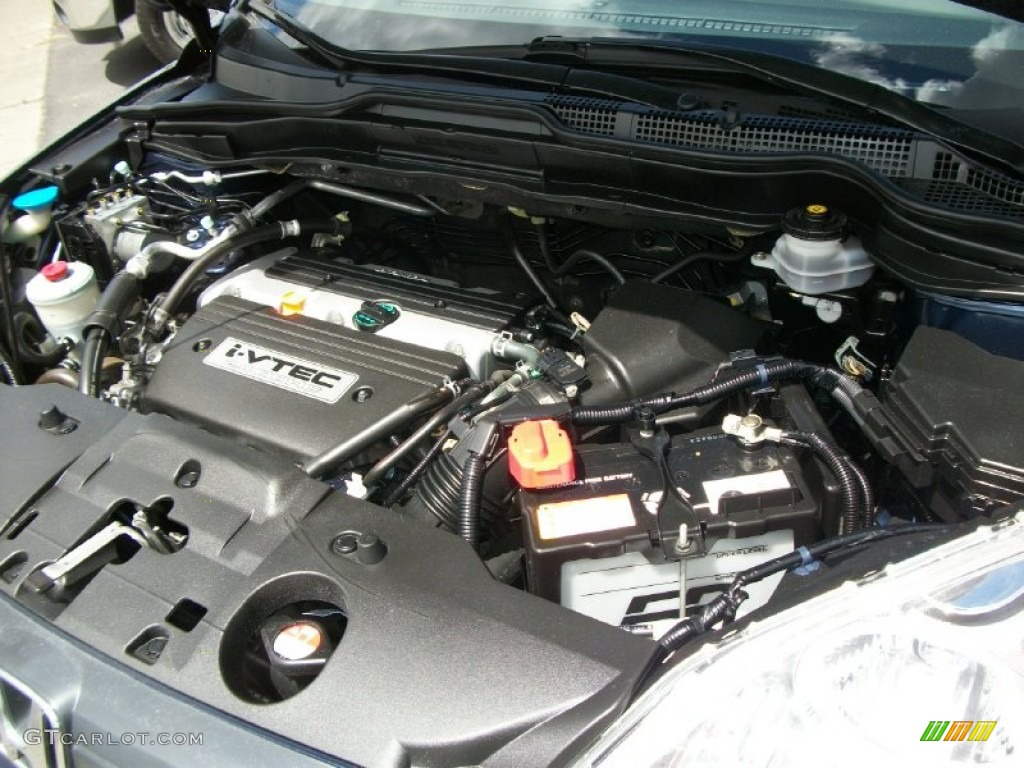 2008 CR-V LX 4WD - Royal Blue Pearl / Gray photo #17