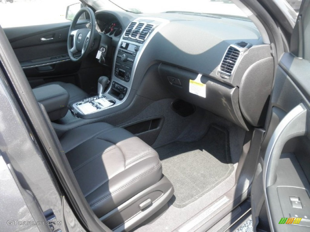 2012 cyber gray metallic gmc acadia slt awd 66882974. Black Bedroom Furniture Sets. Home Design Ideas