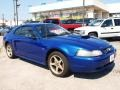 2003 Sonic Blue Metallic Ford Mustang GT Coupe  photo #1