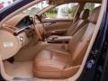 designo Armagnac Brown 2007 Mercedes-Benz S Interiors