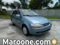 Icelandic Blue 2006 Chevrolet Aveo LS Sedan