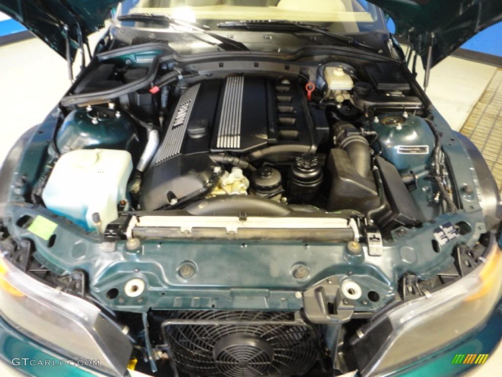 1999 Bmw Z3 2 8 Roadster 2 8 Liter Dohc 24 Valve Inline 6