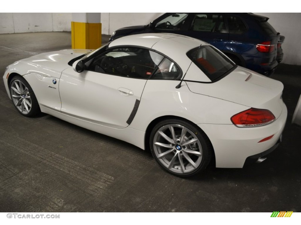 Alpine White 2012 Bmw Z4 Sdrive35i Exterior Photo