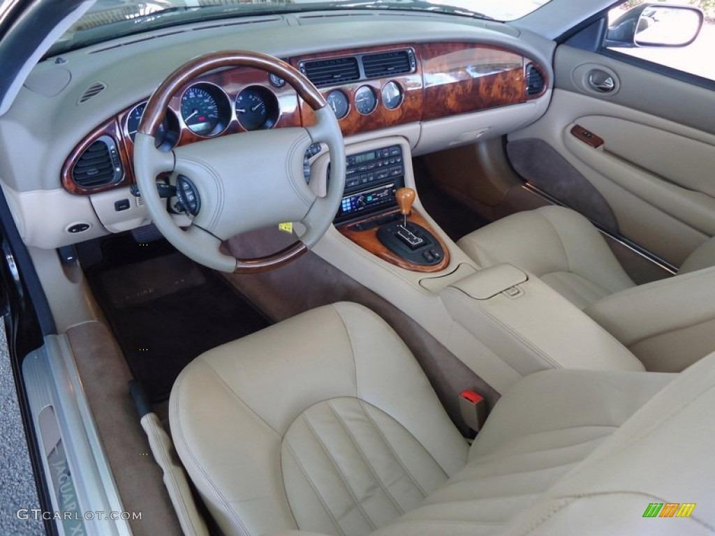 Cashmere Interior 1998 Jaguar XK XK8 Convertible Photo #66946097