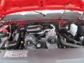 2009 Victory Red Chevrolet Silverado 1500 Regular Cab 4x4  photo #11