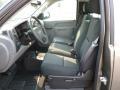2012 Mocha Steel Metallic Chevrolet Silverado 1500 LS Regular Cab 4x4  photo #14