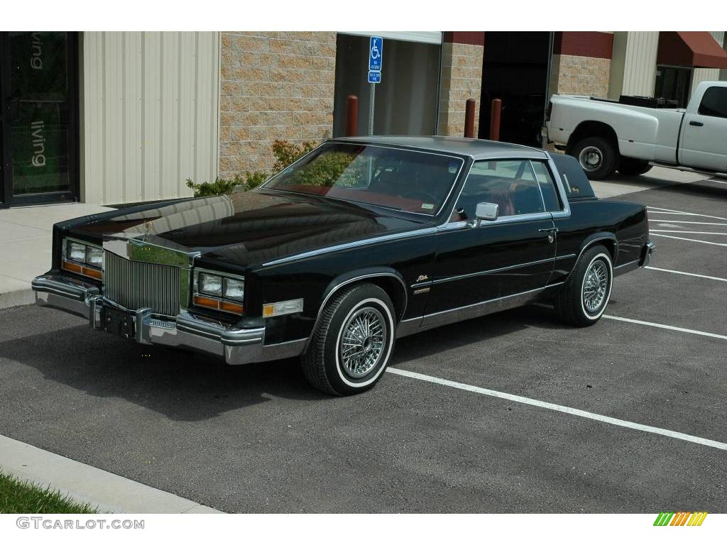 1981 black cadillac eldorado coupe 6562190 gtcarlot com car color galleries gtcarlot com