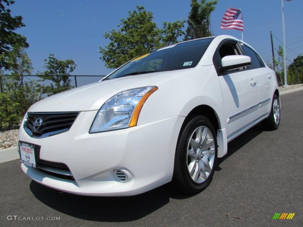 2011 Aspen White Nissan Sentra 2 0 S 66952167 Photo 8