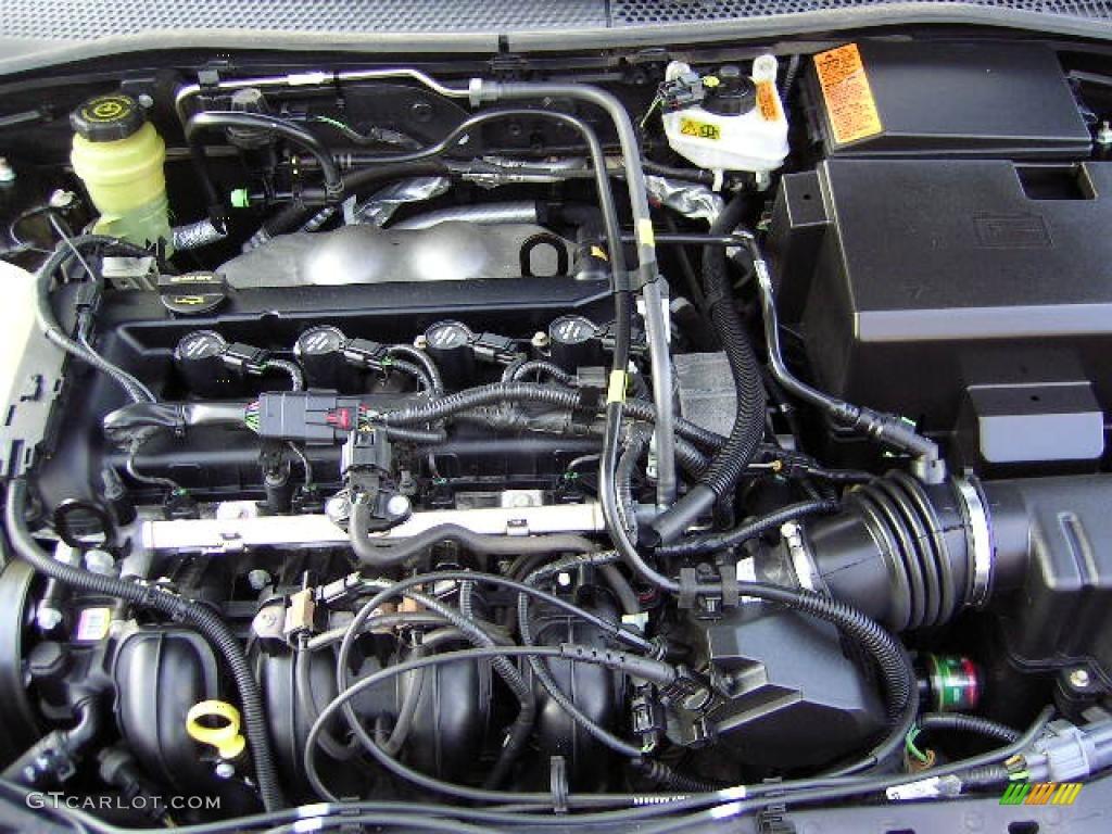 2005 Focus ZX4 ST Sedan - Pitch Black / Charcoal/Charcoal photo #34