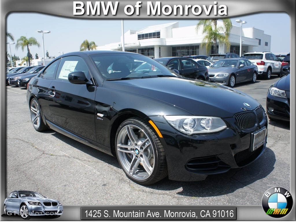 2012 black sapphire metallic bmw 3 series 335is coupe. Black Bedroom Furniture Sets. Home Design Ideas