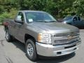 2012 Graystone Metallic Chevrolet Silverado 1500 LS Regular Cab 4x4  photo #2