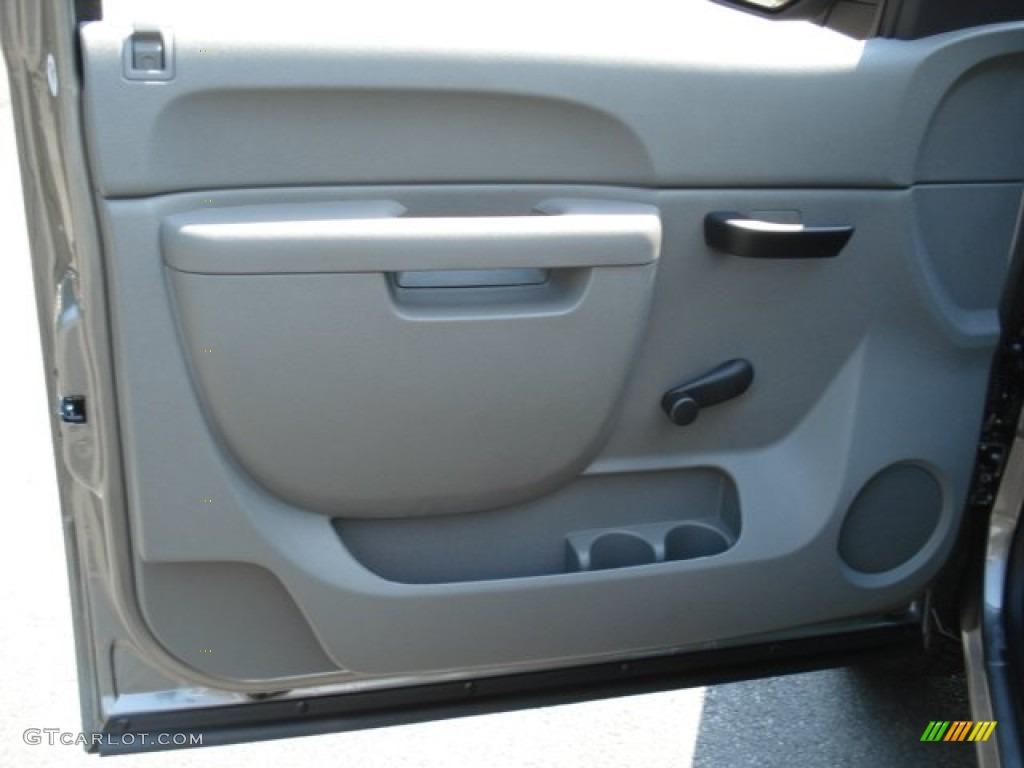 2012 Silverado 1500 LS Regular Cab 4x4 - Graystone Metallic / Dark Titanium photo #12