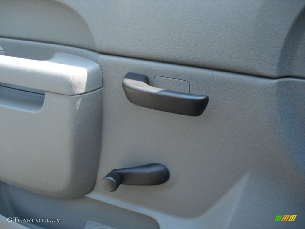 2012 Silverado 1500 LS Regular Cab 4x4 - Graystone Metallic / Dark Titanium photo #18