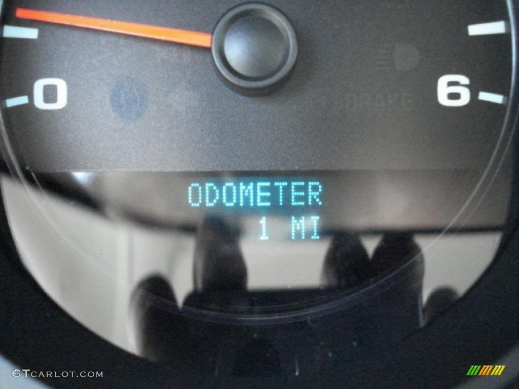 2012 Silverado 1500 LS Regular Cab 4x4 - Graystone Metallic / Dark Titanium photo #19