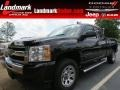 2011 Black Chevrolet Silverado 1500 LS Extended Cab  photo #1