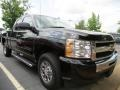 2011 Black Chevrolet Silverado 1500 LS Extended Cab  photo #4
