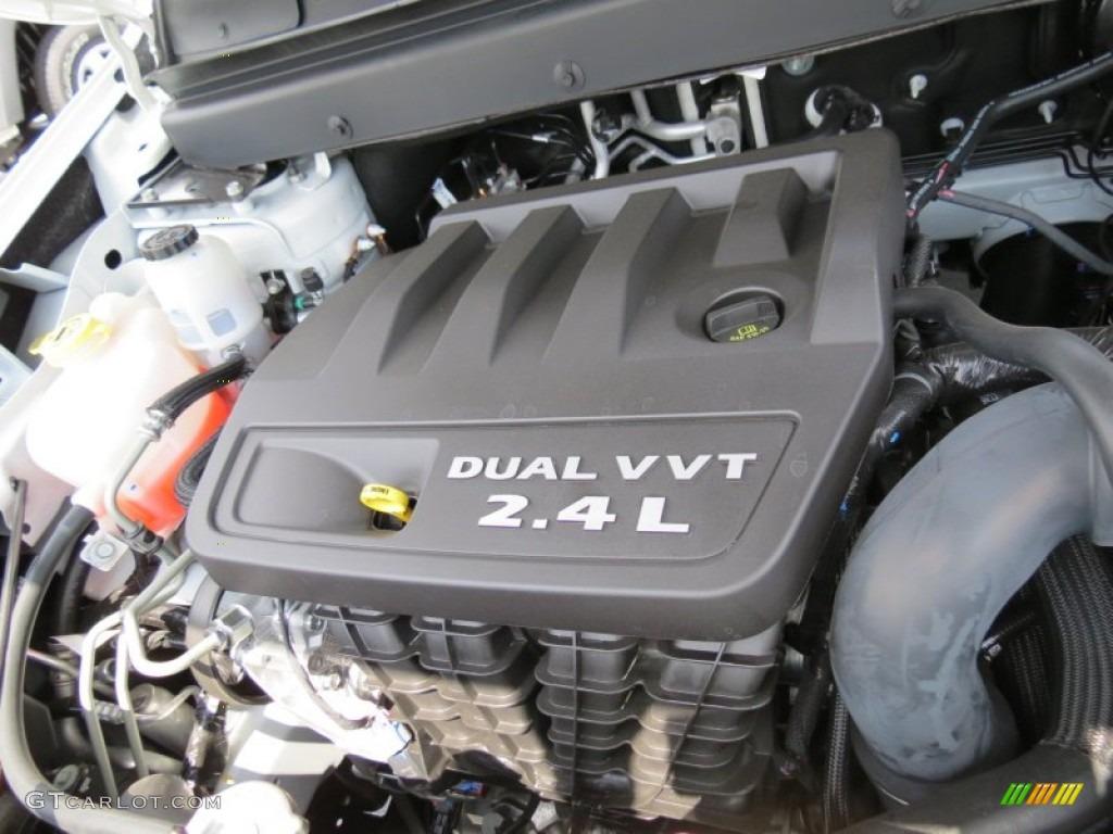 2012 Dodge Journey SXT 24 Liter DOHC 16Valve Dual VVT 4 Cylinder