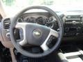 2012 Black Chevrolet Silverado 1500 LT Crew Cab 4x4  photo #5