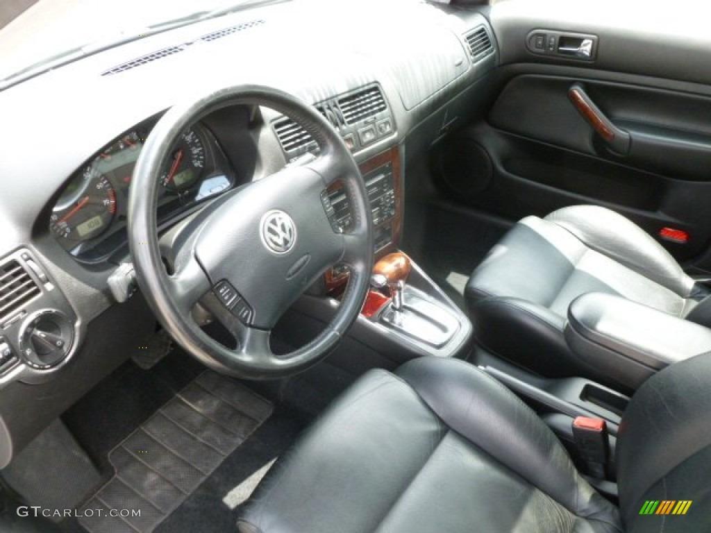 Black Interior 2002 Volkswagen Jetta Glx Vr6 Wagon Photo 67014804