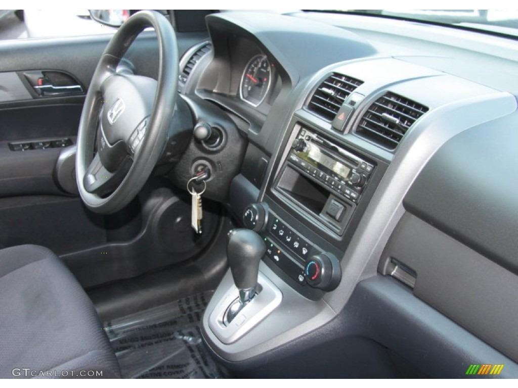 2008 CR-V LX 4WD - Royal Blue Pearl / Black photo #6