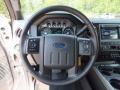 2012 Ingot Silver Metallic Ford F250 Super Duty Lariat Crew Cab 4x4  photo #14