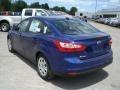 2012 Sonic Blue Metallic Ford Focus SE Sedan  photo #6