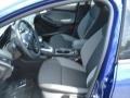 2012 Sonic Blue Metallic Ford Focus SE Sedan  photo #11