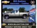 2012 Graystone Metallic Chevrolet Silverado 1500 LS Extended Cab  photo #1
