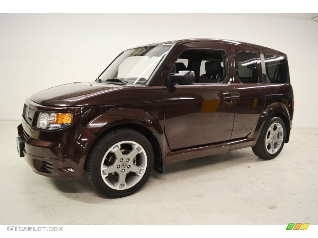 root beer metallic 2007 honda element sc exterior photo. Black Bedroom Furniture Sets. Home Design Ideas