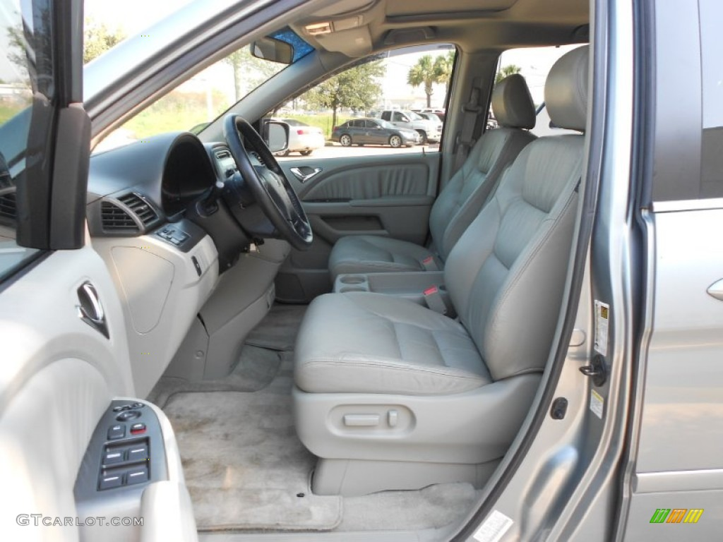gray interior 2006 honda odyssey ex l photo 67039491. Black Bedroom Furniture Sets. Home Design Ideas