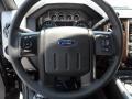 2012 Tuxedo Black Metallic Ford F250 Super Duty Lariat Crew Cab 4x4  photo #36