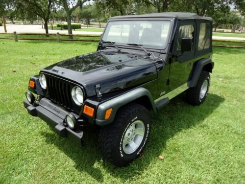 2000 Jeep Wrangler Sport 4x4 Data, Info And Specs