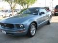 2007 Windveil Blue Metallic Ford Mustang V6 Premium Convertible  photo #1