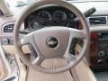 2009 Chevrolet Silverado 1500 Light Cashmere Interior Steering Wheel Photo