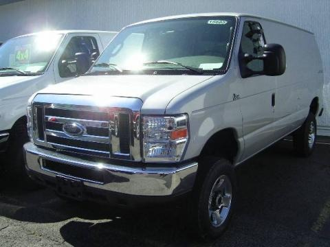 2008 Ford E Series Van E250 Super Duty Cargo 4x4 Data, Info and Specs