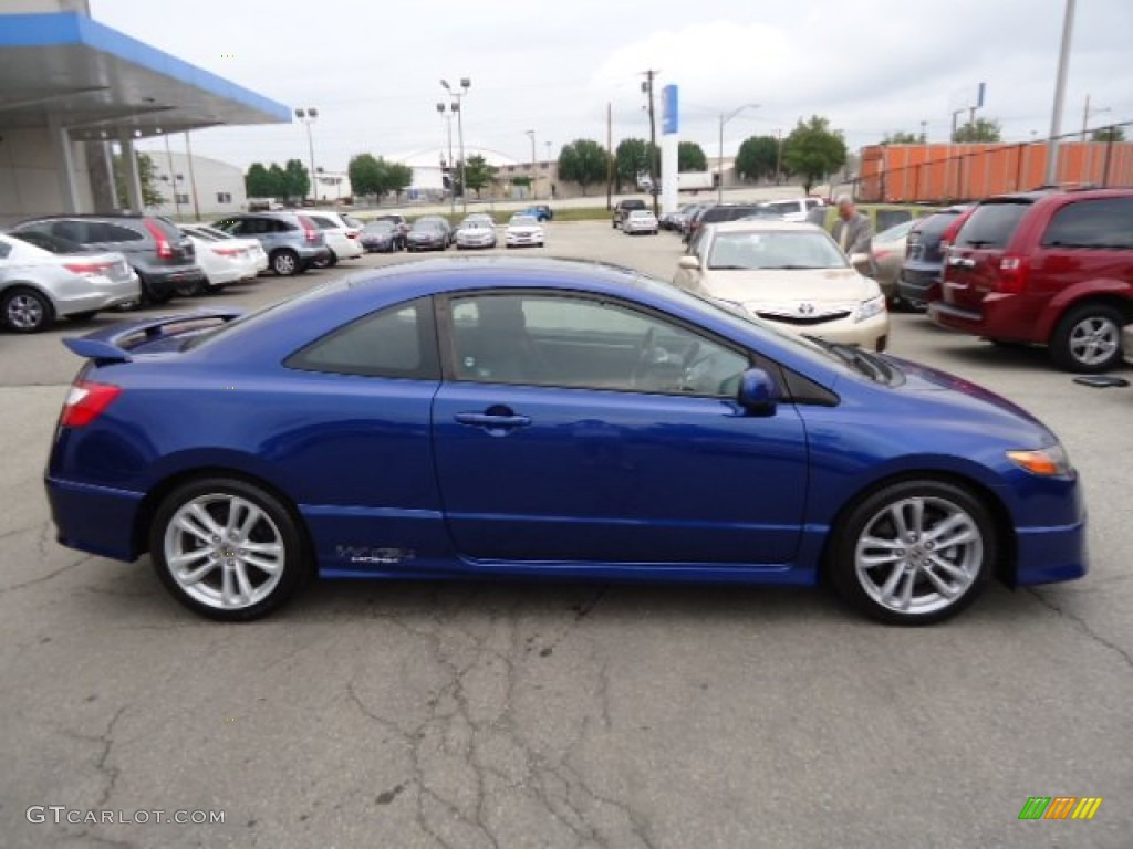 Fiji Blue Metallic 2007 Honda Civic Si Coupe Exterior