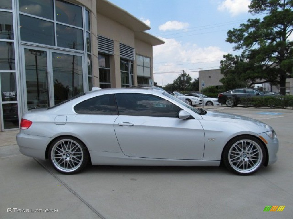 titanium silver metallic 2007 bmw 3 series 335i coupe. Black Bedroom Furniture Sets. Home Design Ideas