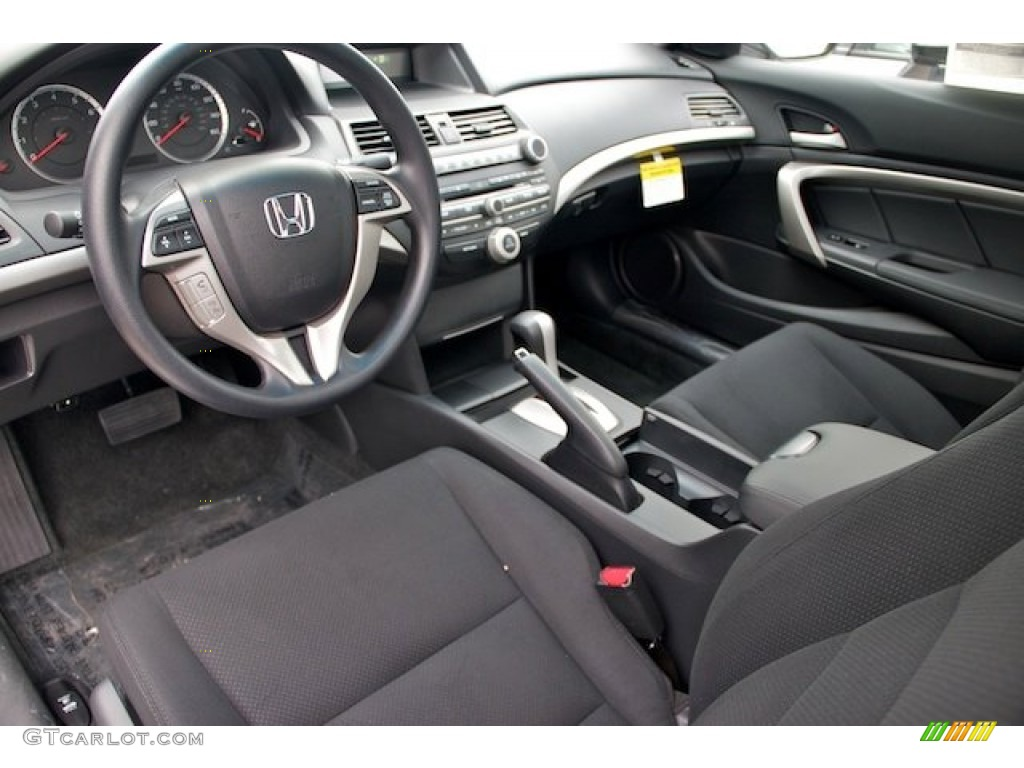 Black Interior 2012 Honda Accord EX Coupe Photo #67061296 ... Honda Accord 2012 Coupe Interior