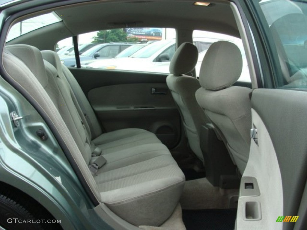 Frost Gray Interior 2005 Nissan Altima 2 5 S Photo 67061738